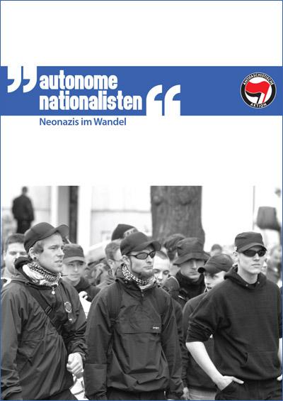 """Cover Broschüre """"Autonome Nationalisten"""""""