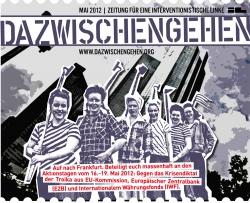 """iL Zeitung """"Dazwischengehen"""" (1. Mai 2012)"""
